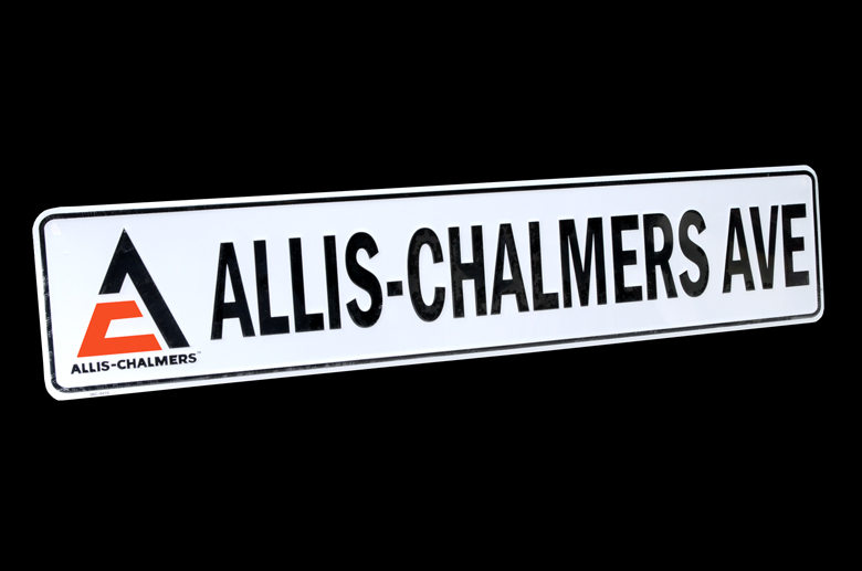 Allis-Chalmers Street Sign