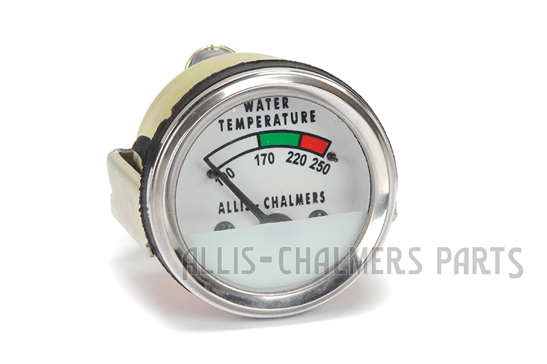 Allis-Chalmers Temperature  gauge -  D19, D21, 170, 175,180,185, 190, 190XT,  200, 210, 220