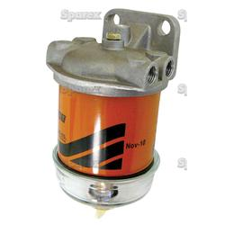 Fuel Filter With 14mm Glass Bowl Fits Allis Chalmer Tractors:5040, 5045, 5050.