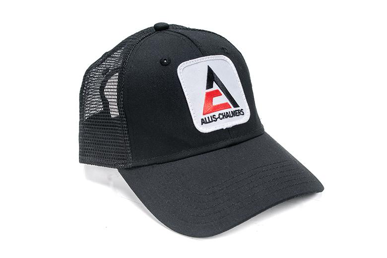 Allis Chalmers Black Trucker mesh  Hat