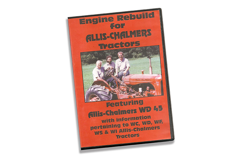 Engine Rebuild for Allis-Chalmers WD 45 tractors DVD