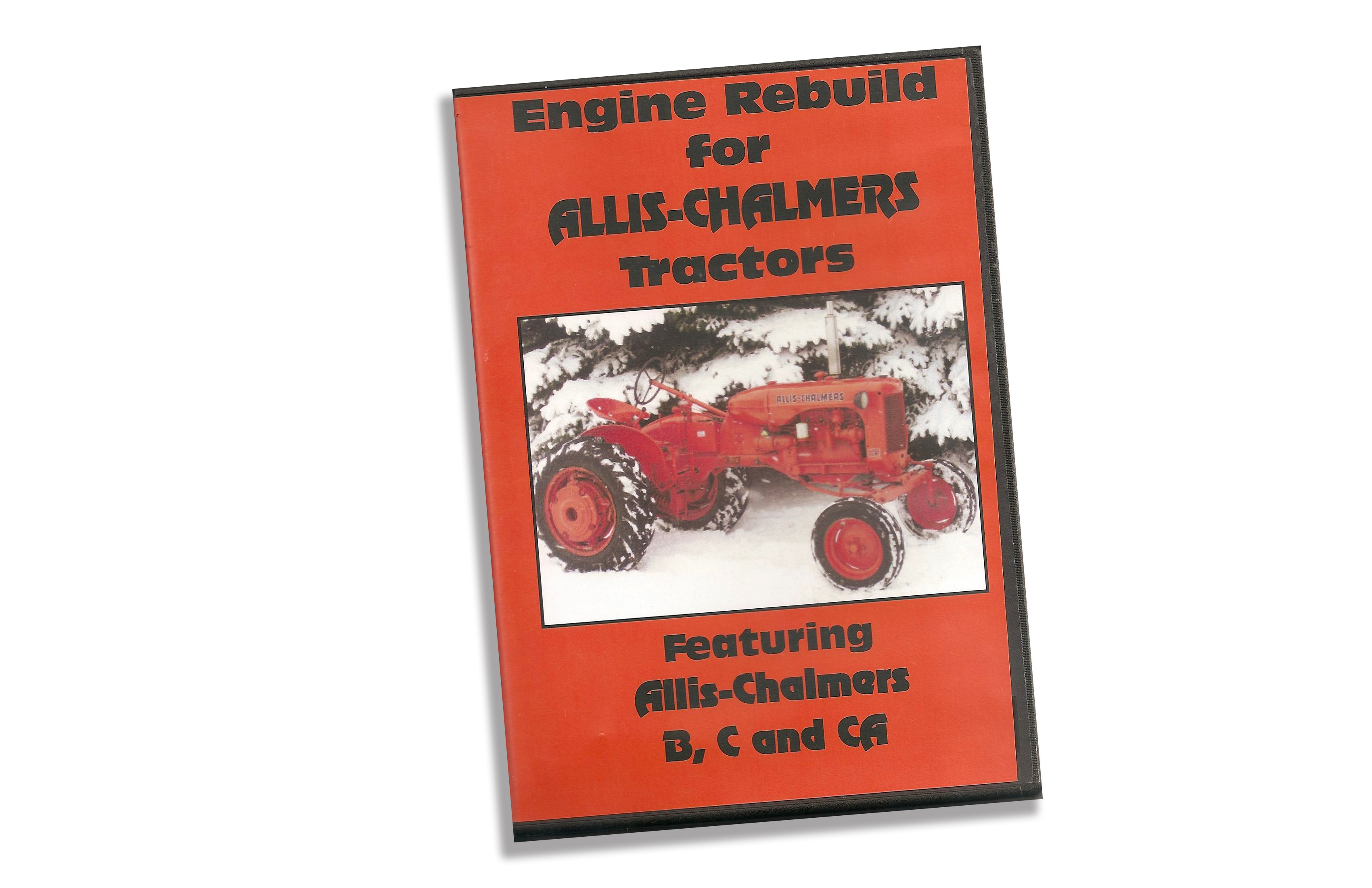 Engine Rebuild for Allis-Chalmers tractors DVD, featuring B, C and CA