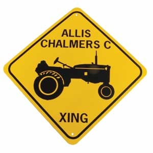 Allis Chalmers Xing Sign