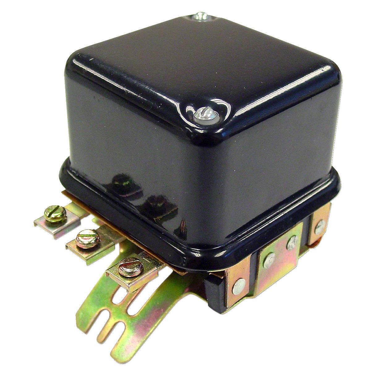 6 Volt Voltage Regulator For Allis Chalmers: B, C, CA, IB, WC, WD, WD45 Gas, WF.