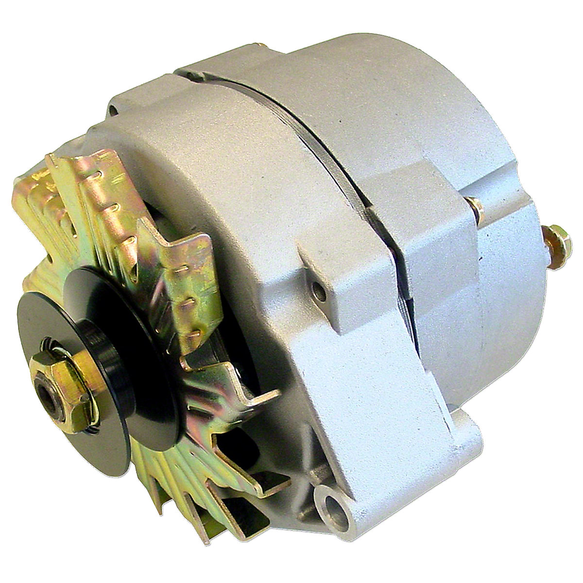 12 Volt 63 Amp 1 Wire Alternator For Converting 6 Volt to 12 Volt.