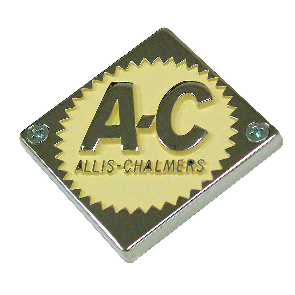 Steering Wheel Or Front Nose Emblem For Allis Chalmers: D10, D12, D14, D15, D19, D21, D17.
