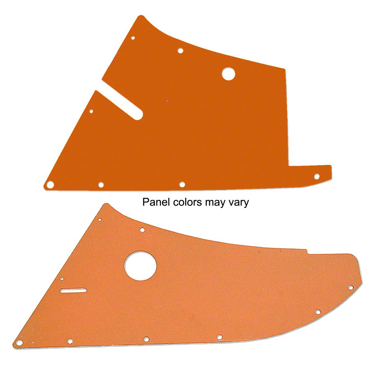2 Piece Side Panel Set For Allis Chalmers: D10, D12.