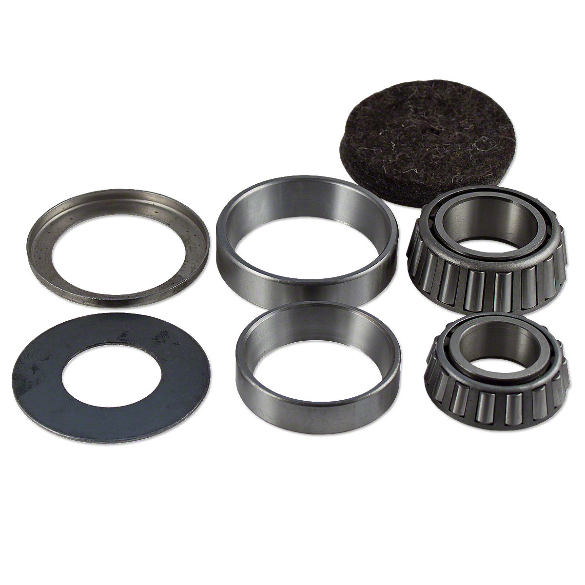 Front Wheel Bearing Kit For Allis Chalmers: D10, D12, D14, D15, D17, RC, WC, WD, WD45.
