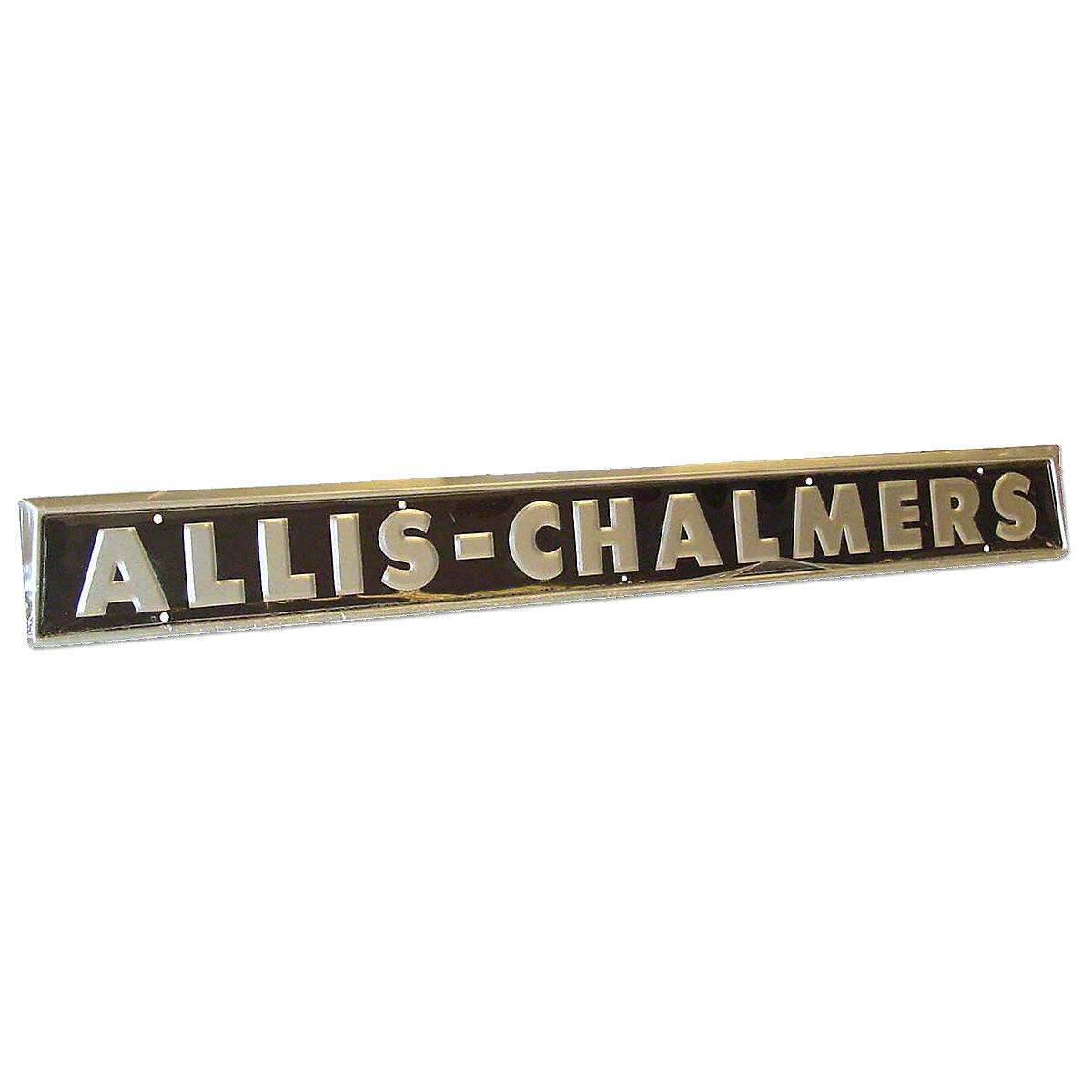 Side Emblem For Allis Chalmers: D10, D12, D15, D17, I40, I400, I60.