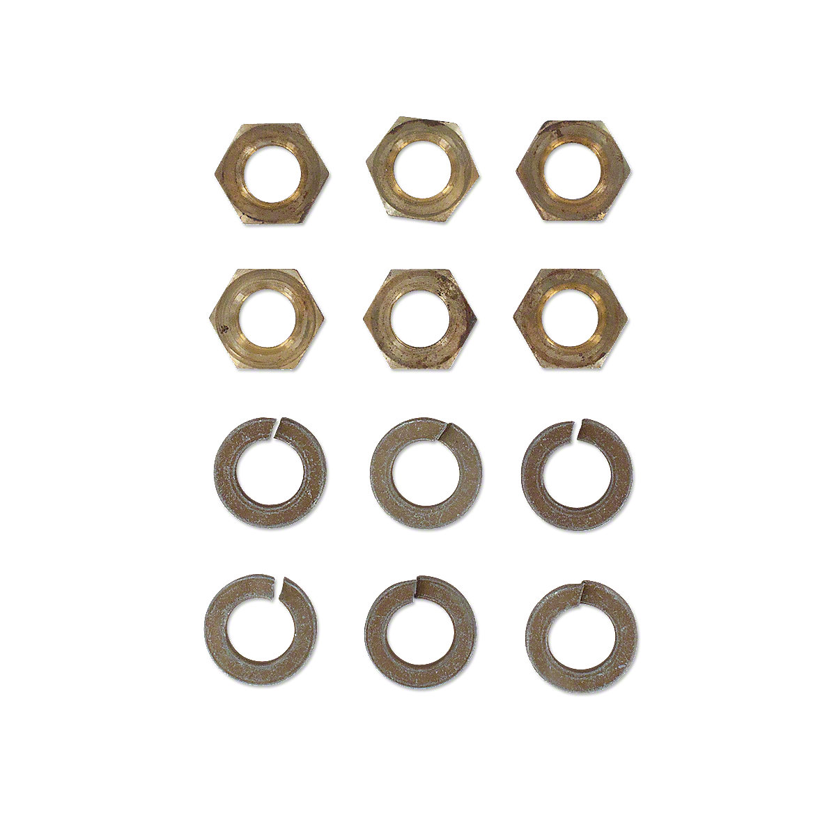 Intake and Exhaust Manifold Nut and Washer Kit For Allis Chalmers D17 Gas & LP, 170, 175 Gas