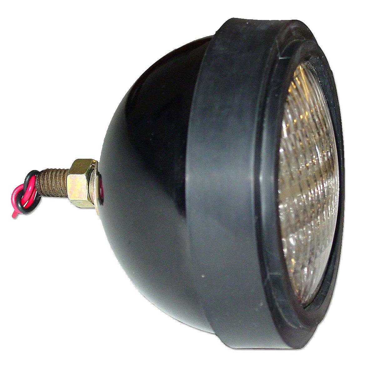 12 Volt Sealed Beam Headlight For Allis Chalmers: 190XT, 170, 175, 180, 185, 190, 200, 6040, 6060, 6080, 7000, 7010, 7020, 7030, 7040, 7045, 7050, 7060, 7080.