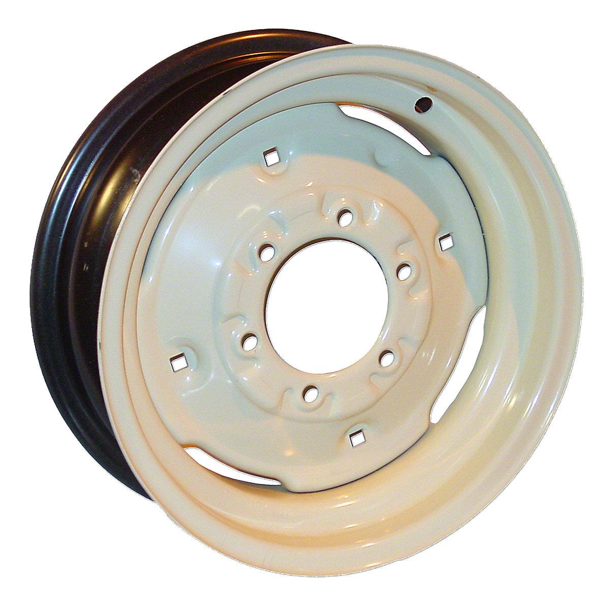 6X16 6 Lug Front Wheel For Allis Chalmers: 190XT, 160, 170, 175, 180, 185, 190, 200, 6060, 6070, 6080, 7000, D19, I60, I600, D17.