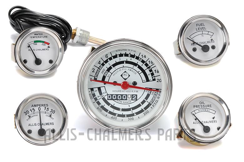 Gauge kit for Allis-Chalmers D14, D15 , D17 GAS or LP