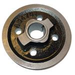 Crank Shaft Pulley For Allis Chalmers: D10 SN#: 3501 and Up, D12 SN#: 3001 and Up, D15 Gas, I60. Replaces Allis Chalmers PN#: 70235043, 70233396, 235043, 233396. Casting#: AM4761