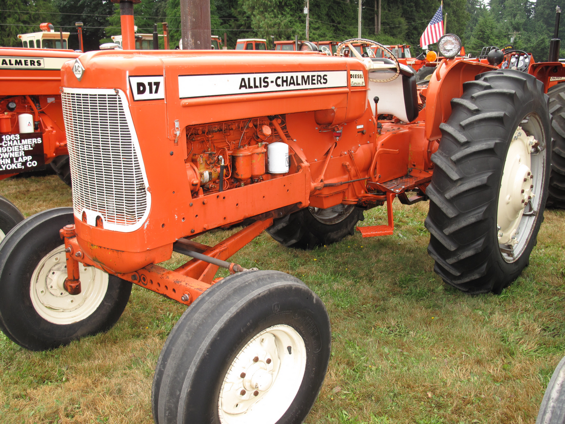 Allis Chalmers D17 Parts Diagram : Parts for allis chalmers d tractor engine and