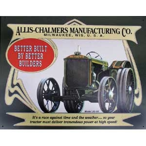 Allis Chalmers 20-35 Metal Sign-Discontinued