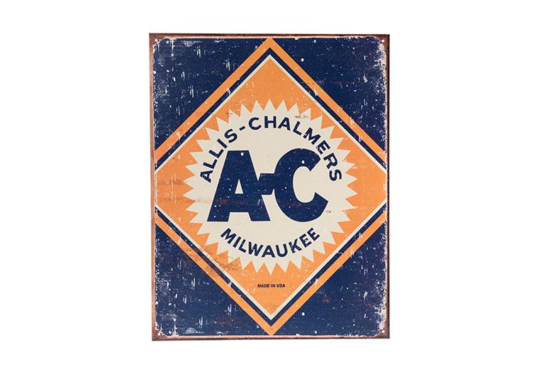Allis Chalmers logo sign