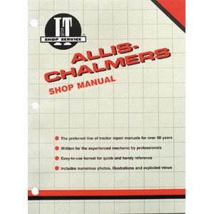 Shop Manual Allis Chalmers 8010,8030,8050