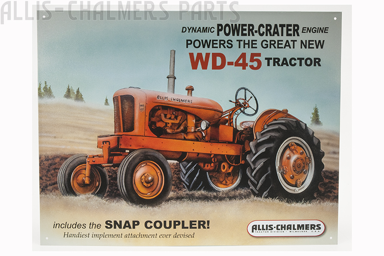 Sign - Allis Chalmers WD45