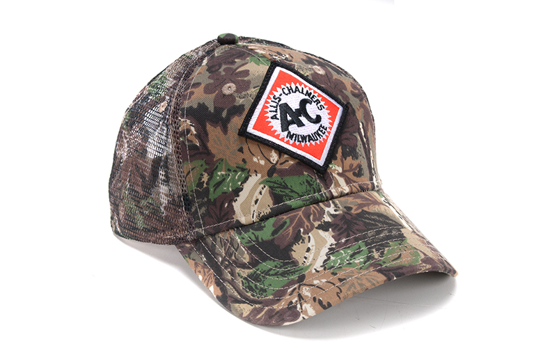 Allis Chalmers Camo Trucker Hat With Mesh
