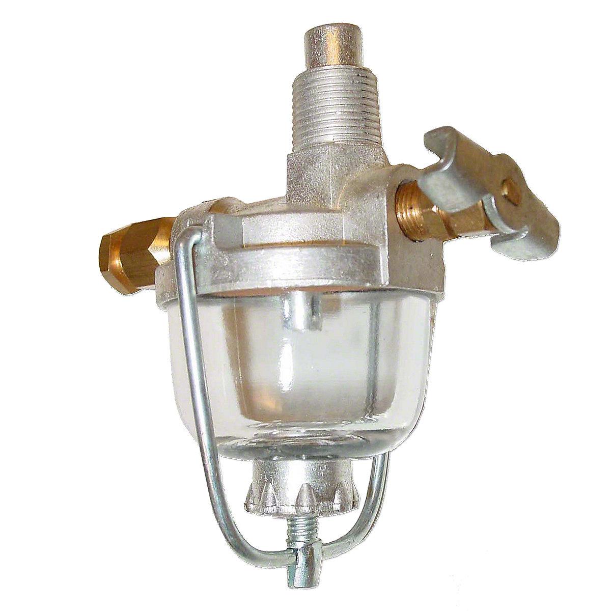 Fuel Sediment Bowl Assembly For Allis Chalmers: B, C, CA, D14, I40, I400, I60 IB, RC, D15, D17, D19.