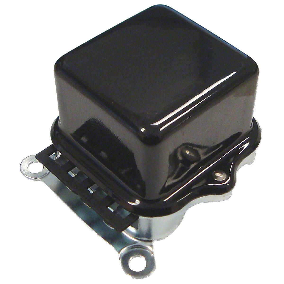 Base Mount 12 Volt Voltage Regulator For Allis Chalmers: 19XT, 170, 175, 180, 185, 190, D21, 160, 200, 210, 220.
