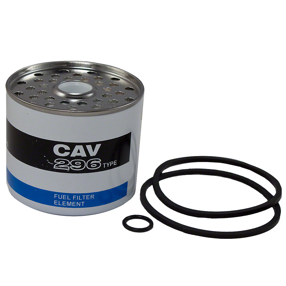 Fuel Filter Element With Seals For Cav and Simms Fuel Filters For Allis Chalmers: 160, 170, 175, 5040, 5045, 5050, 6040, 6140.
