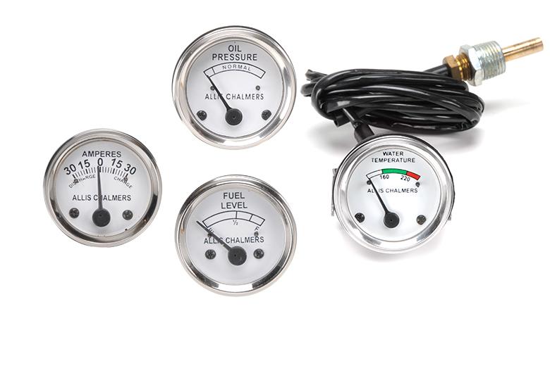 Gauge Allis-chalmers Kit -Allis Chalmers WD45 Diesel, D15 Diesel, D17 Diesel, D19