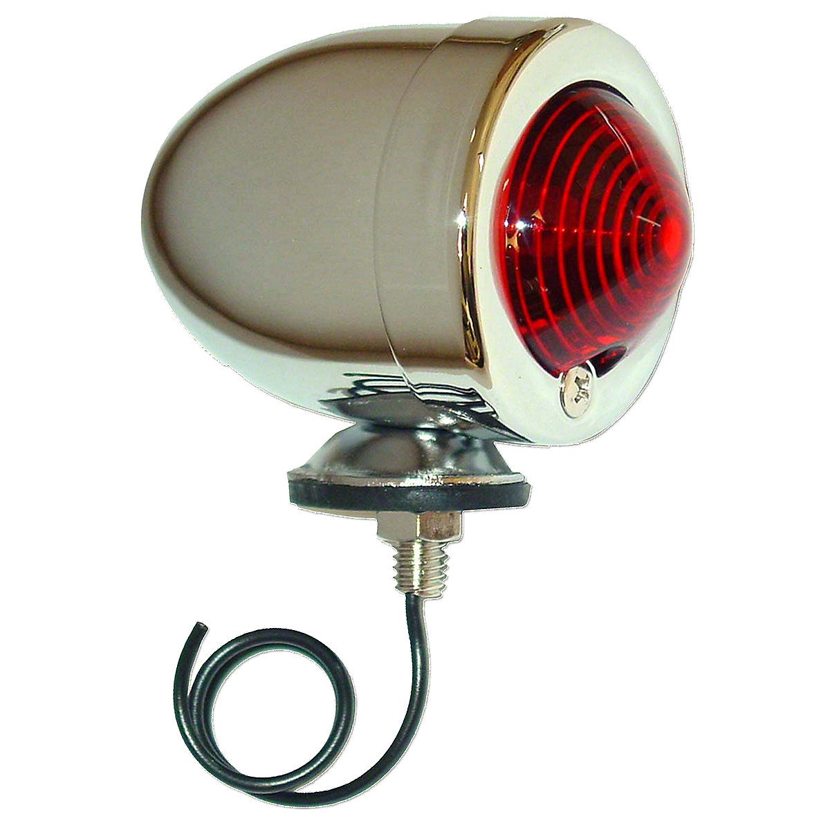 12 Volt Bullet Style Tail Light For Allis Chalmers: B, C, CA, G, WD, WD45, D10, D12, D14.