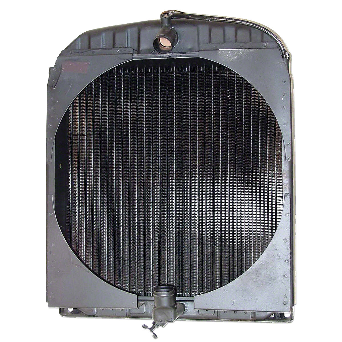 Pressurized Radiator For Allis Chalmers: Styled WC And WF, WD And WD45 Gas Models.