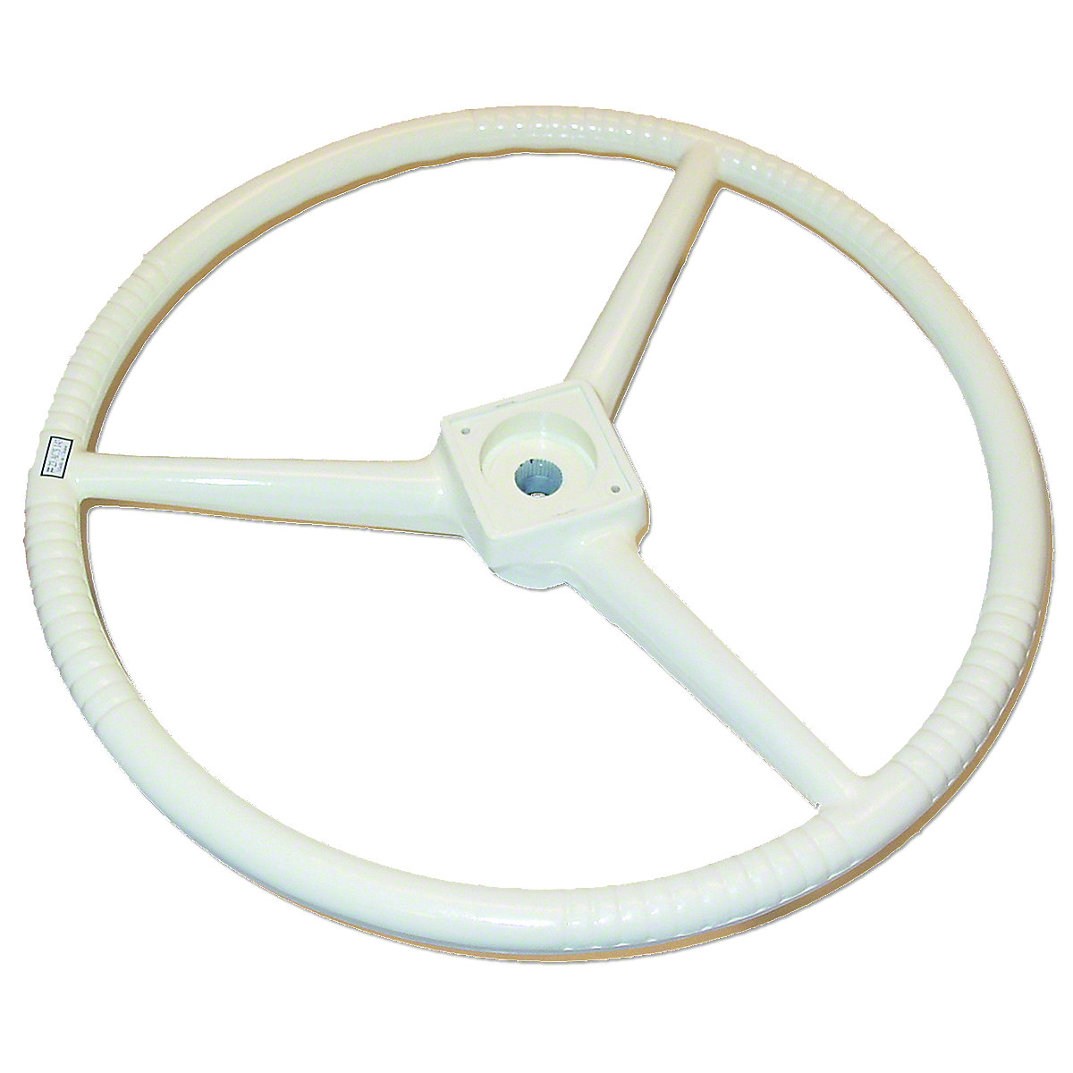17-1/2 Creme Steering Wheel For Allis Chalmers: D10, D12, D14, D15, D17, D19, D21.