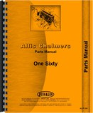 Parts Manual - Alis Chalmers 160