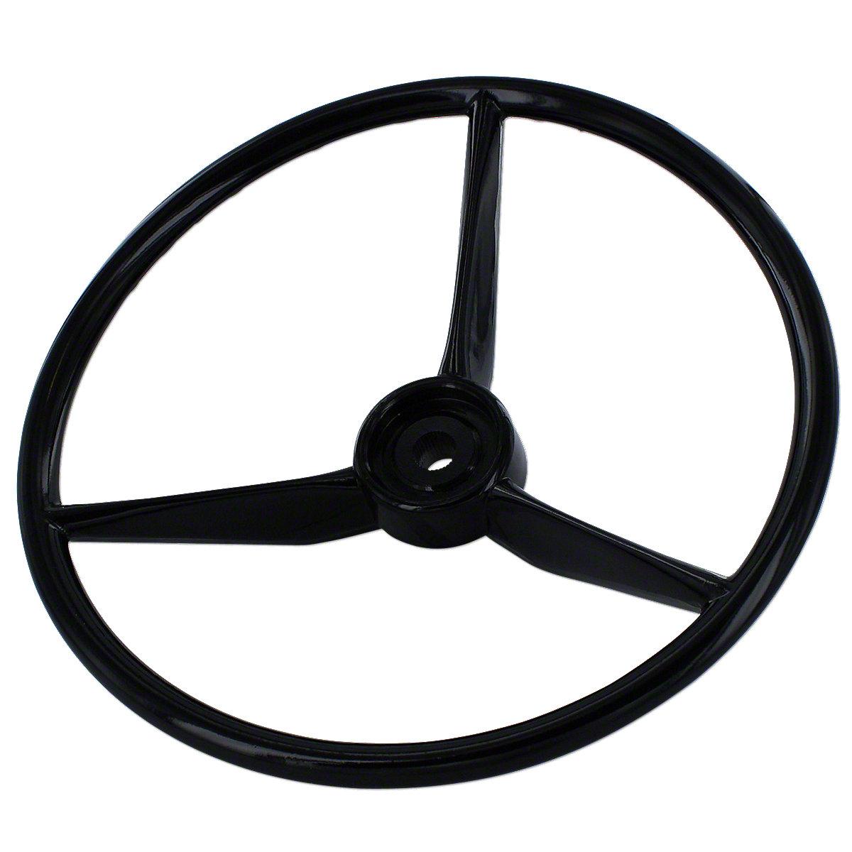 15 3 Spoke Steering Wheel For Allis Chalmers: 6060, 6070, 6080, 7000, 7010, 7020, 7045, 7060, 7580, 8010, 8030, 8050, 8070, 8550.
