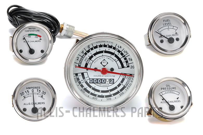 Gauge Kit For Allis-Chalmers D14, D15 , D17 GAS Or LP