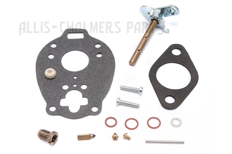 Carburetor Kit For Allis Chalmers:  W, WC, WD, WF, W/ MARVEL-SCHEBLER CARB, TSX159, TSX422, BK25