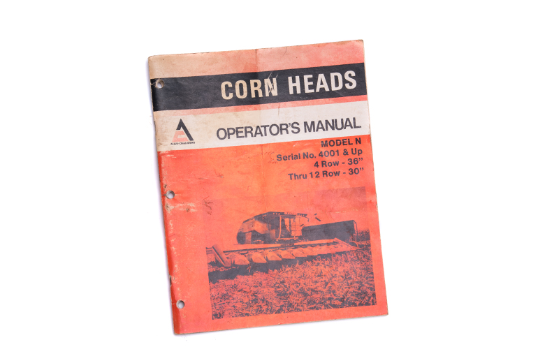 Operator's Manual - Corn Head Model  N