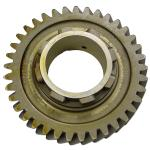 "Pinion Shaft 3rd Gear For Allis Chalmers: CA Late Model SN#: 13291 and Up, D10 SN#: 7760 and Up, D12 SN#: 6091 and Up, D14, D15 SN#: 17565 and Up. Replaces Allis Chalmers PN#: 70234575, 234575, 2333997, 228293, 225831. 37 Teeth, 1.197"" Width."