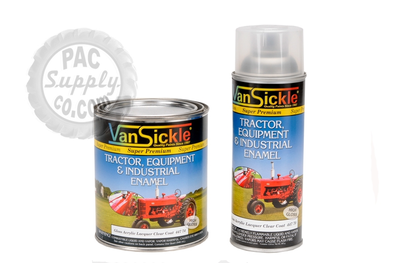 Clear Coat - Gloss Acrylic Lacquer Paint -Quart pricing